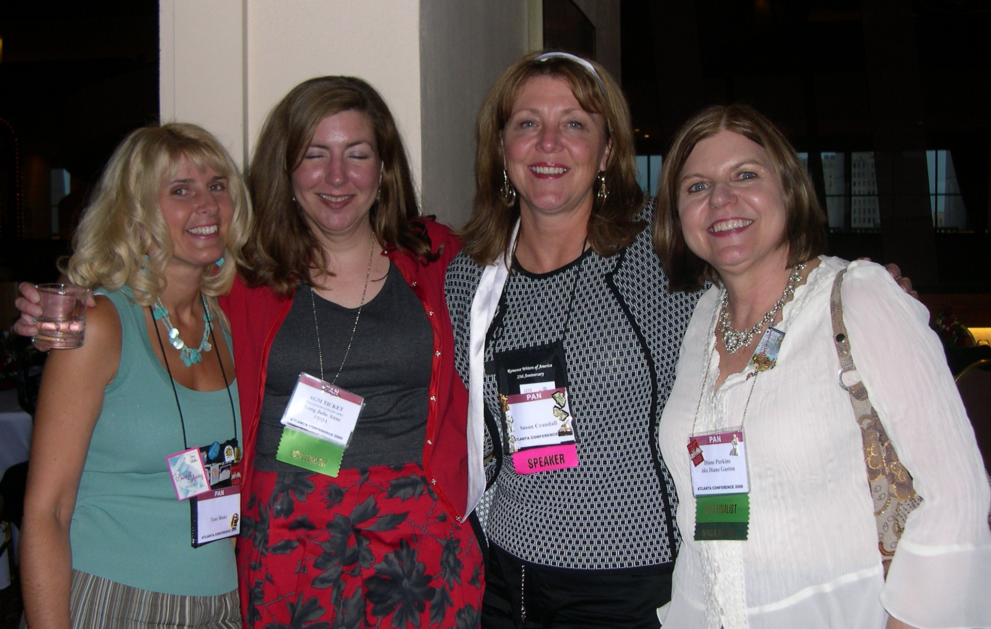 Susan and Fellow Authors