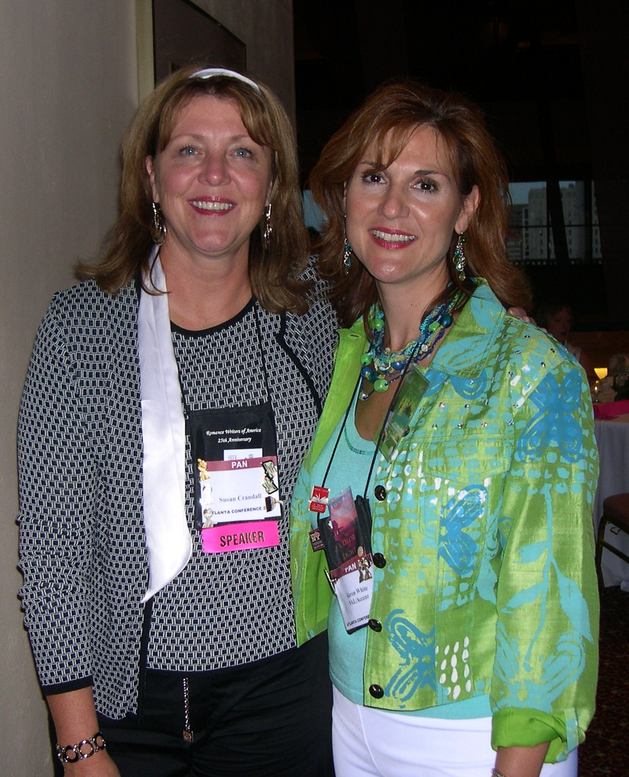 Susan Crandall and Karen White