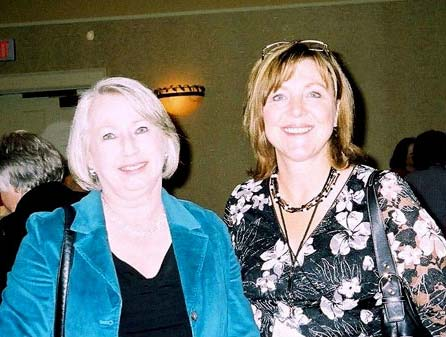 Susan with Bev Freeman
