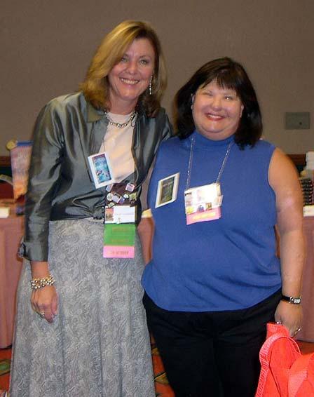 Susan with Karen Rose