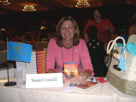 Susan at the RWA Literacy Signing