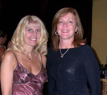 Susan with Toni Blake